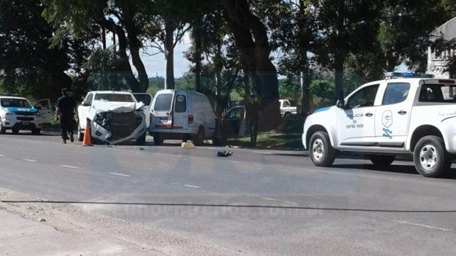 Falleció uno de los conductores que se accidentó en un violento choque
