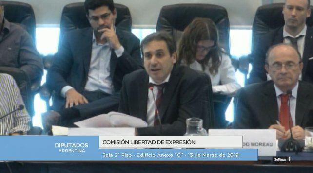 Ramos Padilla detalló en el Congreso avances en la causa contra DAlessio y Stornelli