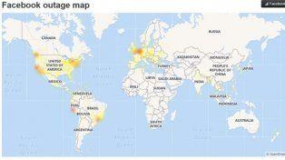 Whatsapp, Instagram y Facebook caídos en todo el mundo