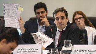 Ramos Padilla: Descubrimos una red de espionaje ilegal tras la denuncia a Stornelli