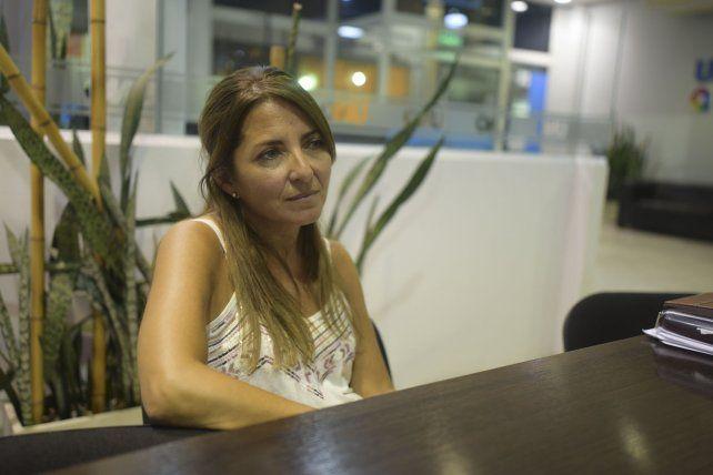 Karina Silva, integrante del servicio de <a href=