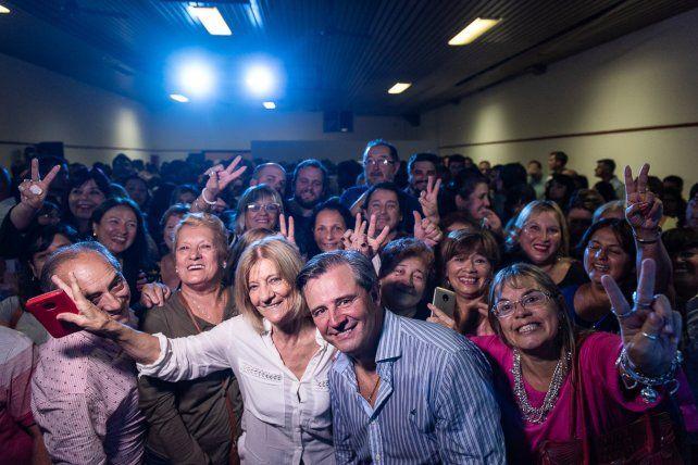 Reunión. La convocatoria fue en el local de calle Belgrano