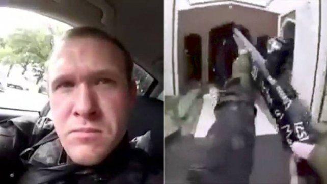 Entró a una mezquita, mató 49 personas y transmitió todo por Facebook