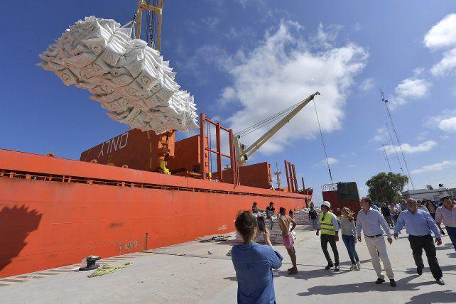 Tras ocho años, volvió a operar el puerto de ultramar de Ibicuy