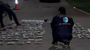 Golpes a narcos que operaban en las rutas como en San Salvador