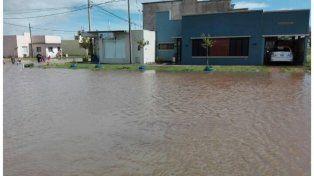 En pocas horas en Villa Elisa llovieron 247 mm
