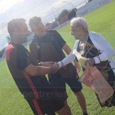 Mario Sciacqua le dedicó la victoria a Doña Paula