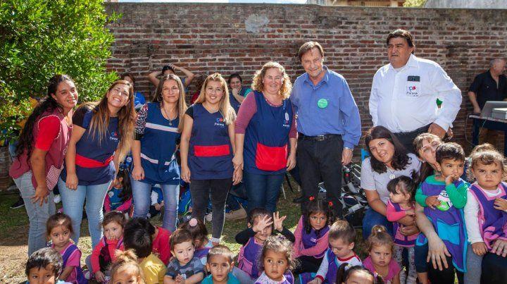 Varisco anunció un plus de 1.600 pesos a docentes en el inicio de Ciclo Lectivo de Jardines Maternales
