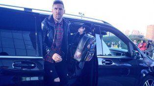 Messi regresó a la Selección Argentina