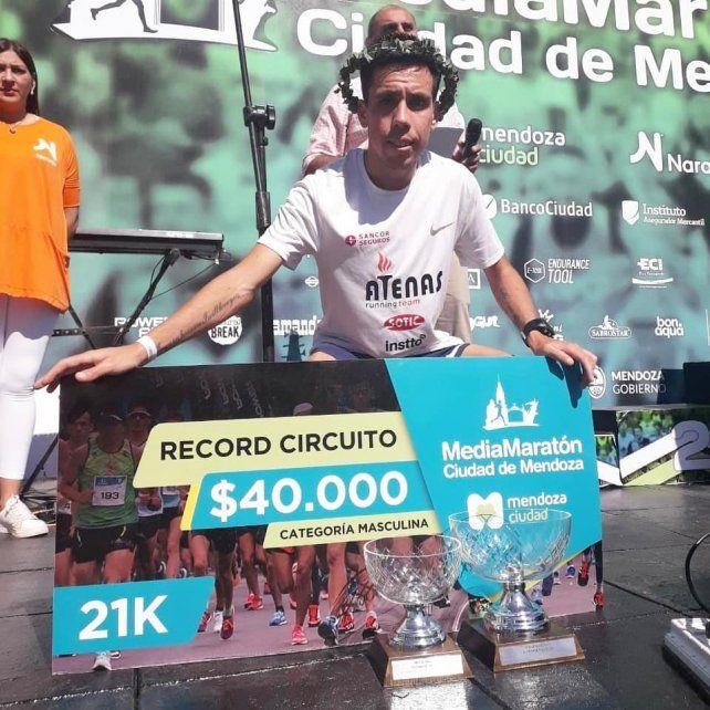 Dos entrerrianos festejaron en Mendoza