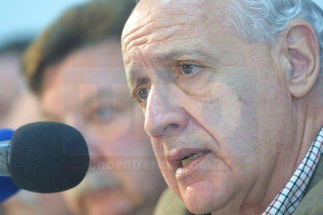 SEVERO CON EL GOBIERNO NACIONAL. Lavagna no aceptó cuestionamientos.
