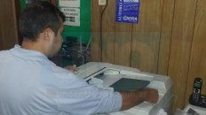 Valores. La hoja doble faz fotocopiada o impresa cuesta 1,60 pesos y la simple 1,10 pesos.