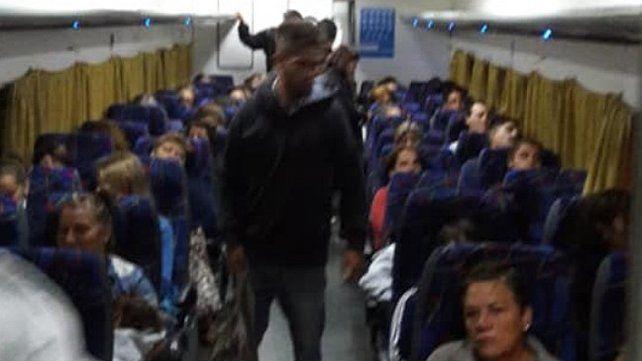 El paro de colectivos revitalizó el viaje en tren Paraná - Colonia Avellaneda