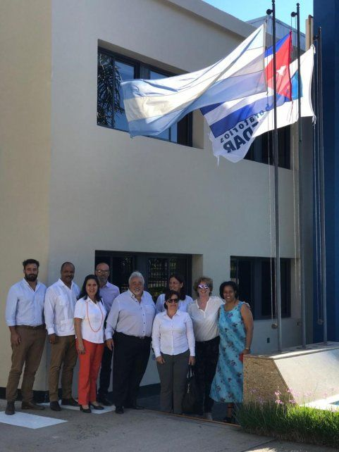 Empresas farmacéuticas estatales cubanas visitaron laboratorio entrerriano