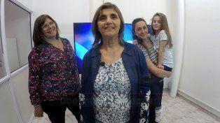 Historias. Ana, Élida, Carina y la pequeña Valentina convocan a distintas generaciones en torno a la palabra.