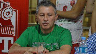 Picante. El dirigente del básquet Femenino defendió su gestión y fustigó contra la lista encabezada por Treidel.