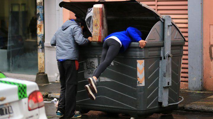 Foto UNO / Diego Arias   Pobreza y desempleo en Paraná