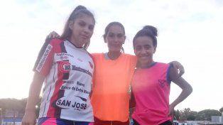Las chicas de Sportivo Urquiza se sumaron a la iniciativa