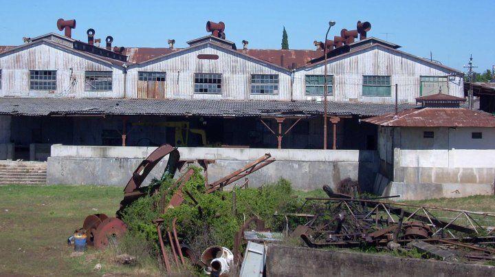 Vacío. Las instalaciones del antiguo MOP están prácticamente fuera de servicio. Aguardan la estocada final.