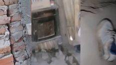 vecinos de diamante estan atemorizados por nuevos deslizamientos de las barrancas