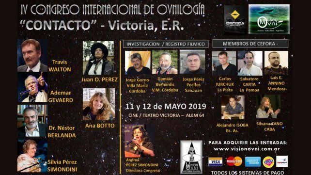 El IV Congreso Internacional de Ovnilogía en Victoria reunirá expertos en contactos del III y IV tipo