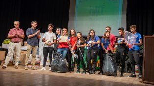 Premiaron a escuelas que participaron de la campaña Hacé tu Parte