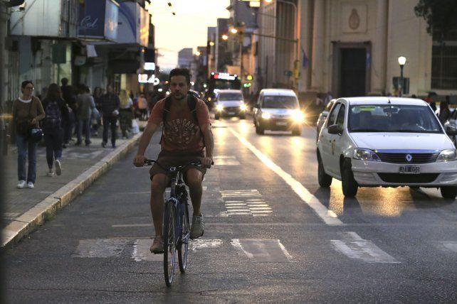 Todos los ciclistas coinciden con que las calles están muy peligrosas.