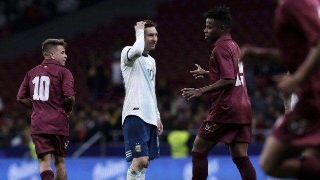 Sin Lionel Messi con Marruecos