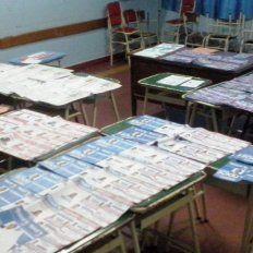 Aporte. El dinero es solo para la impresión de las boletas electorales.
