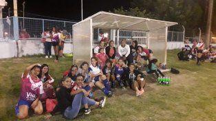 Las chicas jugaron en Don Bosco por el mes de la mujer