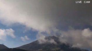México: El volcán Popocatépetl registra una nueva explosión con contenido alto de ceniza