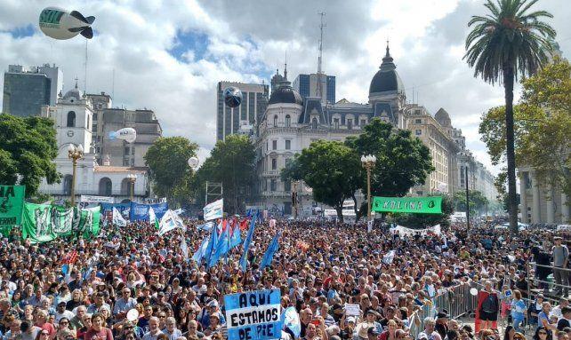 Buenos Aires: Una multitud reclamó la continuidad de las políticas de Memoria, Verdad y Justicia