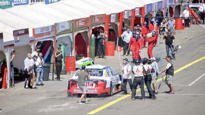 El Top Race le puso color al domingo paranaense