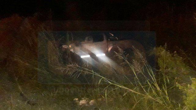 Una camioneta despistó este lunes por la madrugada en acceso Norte