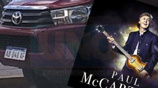 Denuncian que habrían usado un vehículo del Estado para ir a ver a Paul Mc Cartney