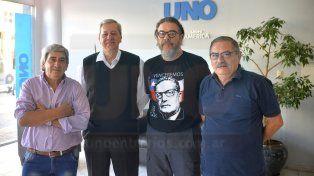 Idea. Antonio Fernández, Rufino Mendez, Jorge Hernández y Mario Huss.