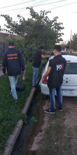 Intenso. Las detenciones son resultado de una acción coordinada de las fuerzas interprovinciales.