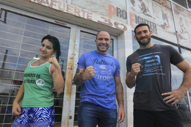 Todo listo. El sábado a primera hora partirán a Gualeguaychú para un nuevo combate amateur en el año.