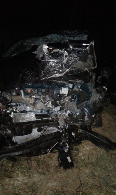 Dieron a conocer las identidades de las tres personas fallecidas en un accidente en ruta 12