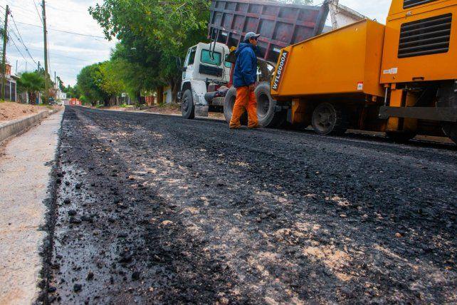 Frentes en ejecución de bacheo, ensanche, pavimentación y repavimentación