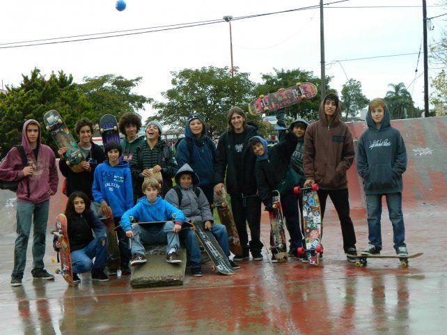 El gran semillero del skate entrerriano está en Gualeguaychú.