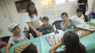 Se viene un torneo de ajedrez en el club Bajada Grande