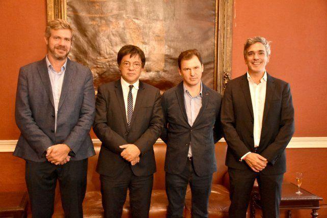 Referencias del Multimedios. Scaglione lidera el grupo empresario comprador. (La Capital)