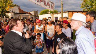 Varisco difundió su propuesta en los barrios Mosconi