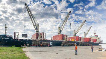 Constantes. Los embarques de madera ya suman ocho desde el mes de noviembre pasado.