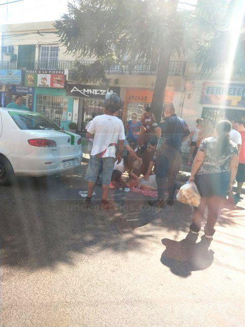 Conductor se descompuso, chocó un auto y luego falleció en el hospital