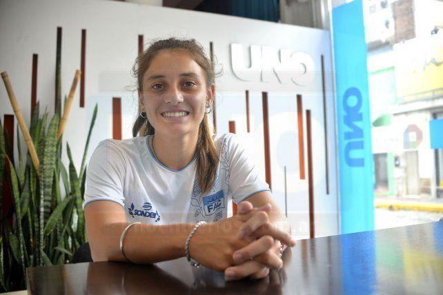 Intratable. El nivel demostrado por la palista del Club Náutico Paraná durante lo que va del año es muy bueno y sus producciones la llevaron a clasificar a varios torneos de relevancia mundial.
