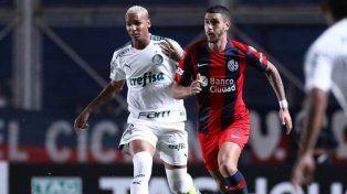 San Lorenzo venció al Palmeira y es puntero del Grupo F de la Copa
