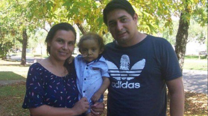Joaquín necesita urgente un trasplante de hígado