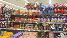 Por las nubes. Si bien en los supermercados hay variedad de precios, todos sufrieron notables incrementos.